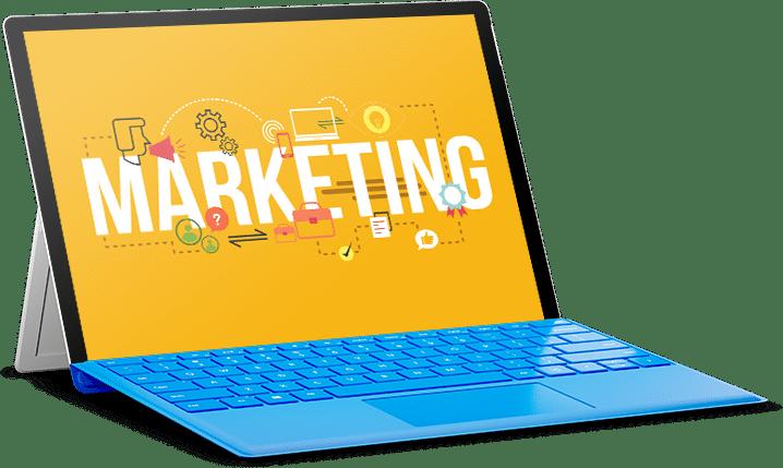 acticsim- CRM Software Customer retention - laptop